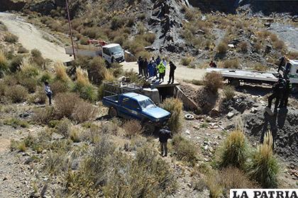 Panorama del peculiar incidente vial