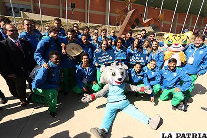 Evo Morales encabeza inauguración de XI Juegos Suramericanos