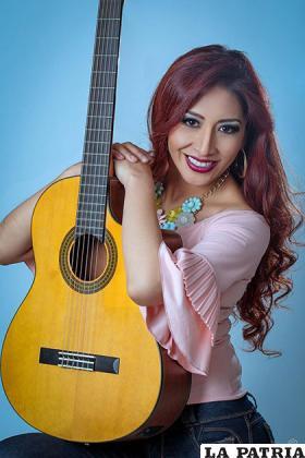 La talentosa Vannia Miranda tiene bastante conocimiento en la música /VANNIA MIRANDA