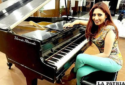 El piano es uno de sus instrumentos favoritos /VANNIA MIRANDA