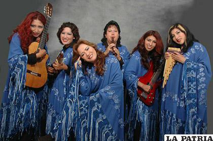 Fue parte del grupo folklórico femenino Bolivia /VANNIA MIRANDA