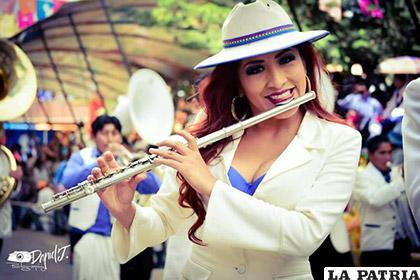 También participa en el Carnaval de Oruro, Obra Maestra del Patrimonio Oral e Intangible de la Humanidad /VANNIA MIRANDA