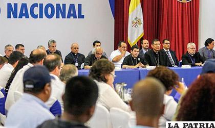 Mesa de diálogo nacional  nicaragüense