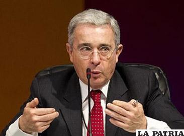 El expresidente y actual senador por el Centro Democrático, Álvaro Uribe