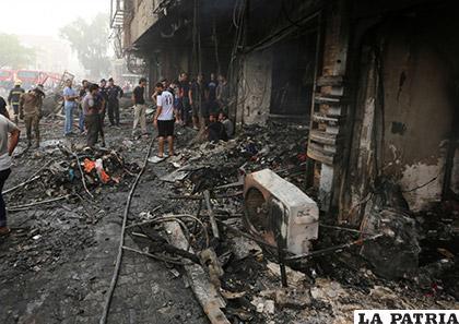 Durante un operativo del Ejército y la Policía iraquí, cuatro policías murieron y dos resultaron heridos /Versión Final