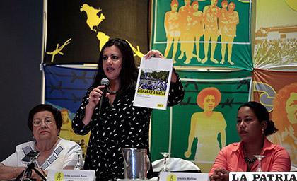 La directora para las Américas de Amnistía Internacional, Erika Guevara Rosas La directora para las Américas de Amnistía Internacional, Erika Guevara Rosas /EFE