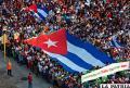En Cuba: Masivo apoyo a Díaz-Canel  y la Revolución centró Día del Trabajo