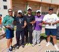 Oruro obtuvo siete títulos en el nacional de tenis Sénior que se disputó en Sucre