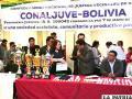 La directora de LA PATRIA, Ximena Miralles, recibió un reconocimiento por la dirigencia de la Conaljuve