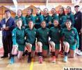 Selección orureña no pudo llegar a la final en básquetbol damas