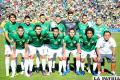 Bolivia se mantiene en el  puesto 57 en el ranking FIFA