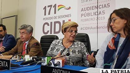 Los miembros de la CIDH cierran su 171 periodo de sesiones en Sucre /César Vale