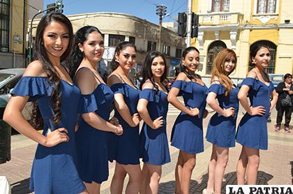 Candidatas al Miss Oruro 2019/ LA PATRIA