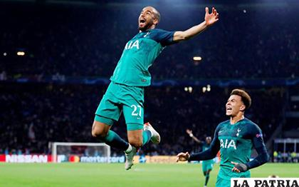 Tripleta de Lucas Moura para el triunfo del Tottenham (3-2) ante Ajax/ as.com