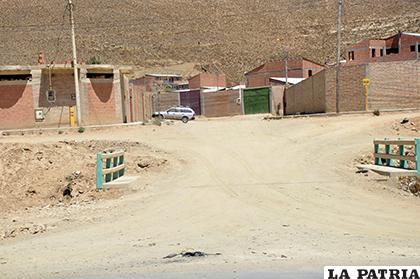 Barrios de Oruro quieren dejar de tener calles de tierra/ LA PATRIA/ARCHIVO
