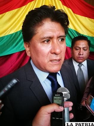 El alcalde expresó que no está pensando en ninguna candidatura de momento/LA PATRIA