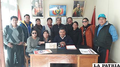 Los directivos de la Fedjuve de Samuel Mendizábal retornaron a sus oficinas/LA PATRIA