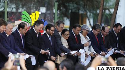 Consejo de Ministros de la Alianza del Pacífico en México /EFE
