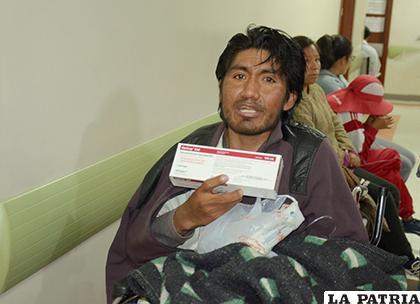 Alrededor de 600 bolivianos fueron erogados para la compra de medicamentos /GAMO