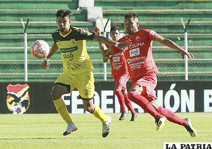 Guabirá ganó en la ida 3-2 en Santa Cruz el 10/03/2019 /APG