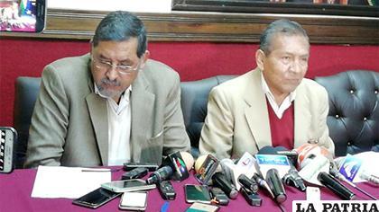 El Viceministro y el Ministro de Trabajo dieron el informe /ERBOL