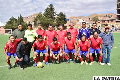 El plantel de España FC