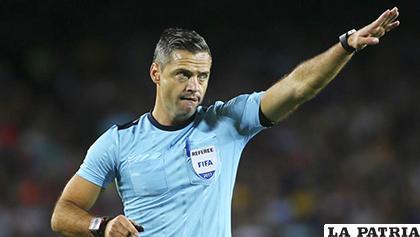 El árbitro esloveno Damir Skomina /mundodeportivo.com
