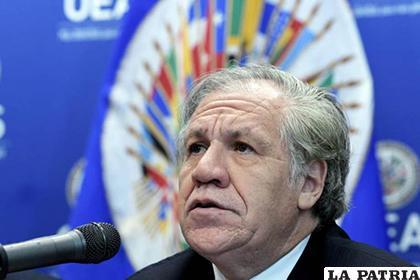 El secretario general de la Organización de Estados Americanos (OEA), Luis Almagro /EFE