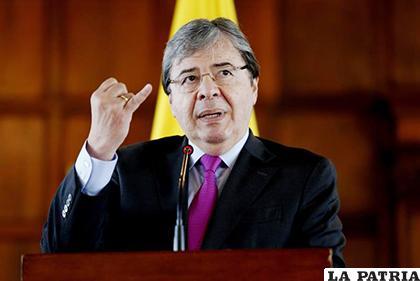 El canciller colombiano, Carlos Holmes Trujillo García /La Prensa Latina