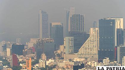 Vista de Ciudad de México, este lunes /HECTOR GUERRERO/EL PAÍS