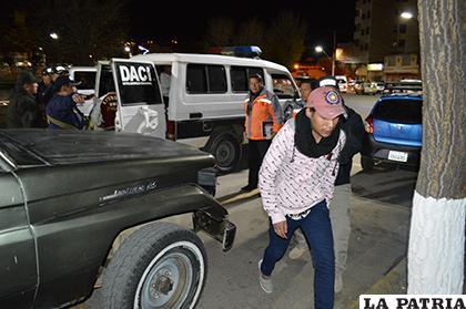 Los infractores fueron llevados hasta la EPI de la Sebastián Pagador /LA PATRIA