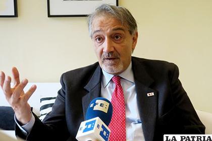Francesco Rocca, presidente de la Federación Internacional de Sociedades de la Cruz Roja /EFE