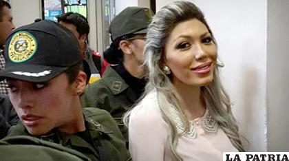 Gabriela Zapata cumple con una sentencia de 10 años de prisión /ANF/Archivo