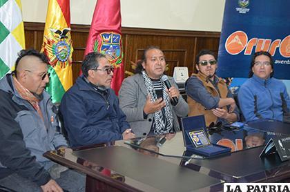 Kalamarka llegó a Oruro con toda su energía /LA PATRIA