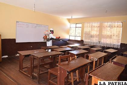 Continuarán fumigaciones en colegios según casos reportados /SEDES