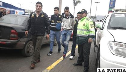 Delincuentes venezolanos en el centro comercial Plaza Norte /Archivo El Comercio /Perú