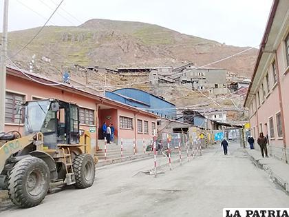 Aún no se reactivan las actividades en Huanuni /LA PATRIA