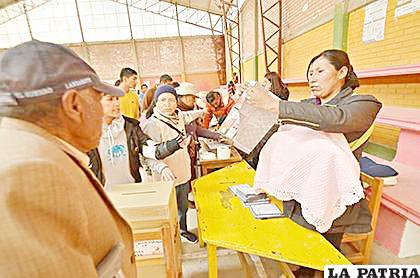 Ley de Elecciones generó diferentes posiciones /LA PATRIA /archivo