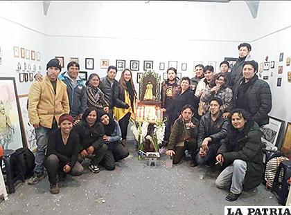 Artistas plásticos de Oruro trabajarán junto con el Municipio /ABAP Oruro