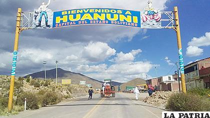 Huanuni es el segundo municipio del departamento con más casos de Covid-19 /GAMH /FACEBOOK