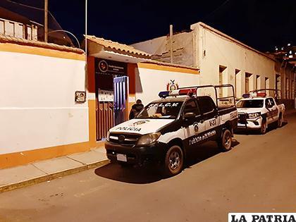 La Policía procedió a la captura de los acusados /LA PATRIA