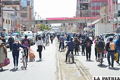 El panorama de las calles de la ciudad /CARLA HERRERA /LA PATRIA