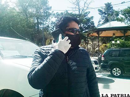 Elías Colque, preocupado por la situación de los trabajadores /LA PATRIA