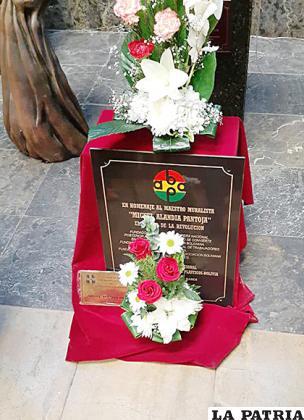 Restos de Alandia Pantoja en el Museo de la Revolución en La Paz /Sider Castro /Facebook