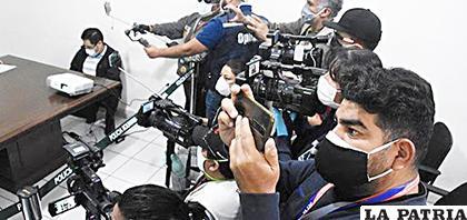 Periodistas también rechazan restricciones a la libertad de expresión /LA PRENSA