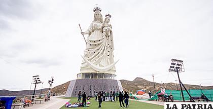 Se podrá pasear virtualmente por el monumento de la Virgen del Socavón /Ilustrativa