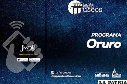 Programa de Oruro para la Larga Noche de Museos /MCyT
