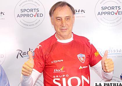 Miguel Ángel Portugal no es más entrenador de Royal Pari /APG