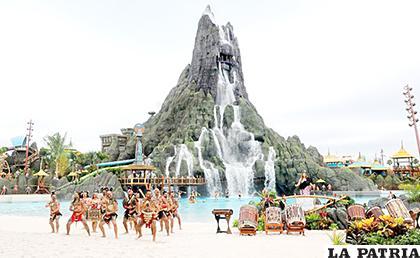 El parque temático abrirá primero para empleados el  1 de junio /YAHOO