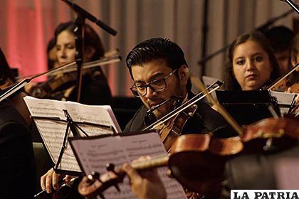 Músicos académicos perjudicados por el Covid-19 /Orquesta Sinfónica Bolivia Joven /Facebook
